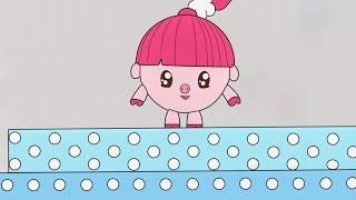 Малышарики - Раскраска для детей - Попрыгушки (Учим цвета с малышами)