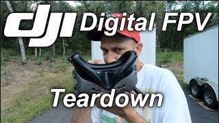 Dji Digital FPV Air unit Teardown and Unboxing