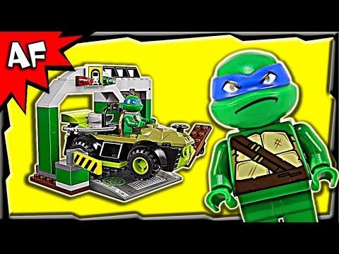 Vidéo LEGO Juniors 10669 : Le repaire des Tortues Ninja