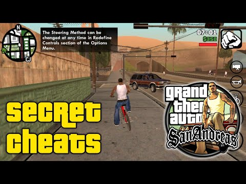 Top [5 Secrets Cheat] For Gta San Andreas (2018)