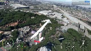 Sloppy Flyover of Disneyland (Microsoft Flight Simulator 2020)