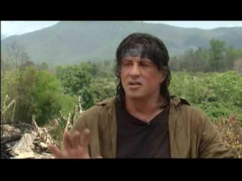 Rambo 4 Behind the scenes!