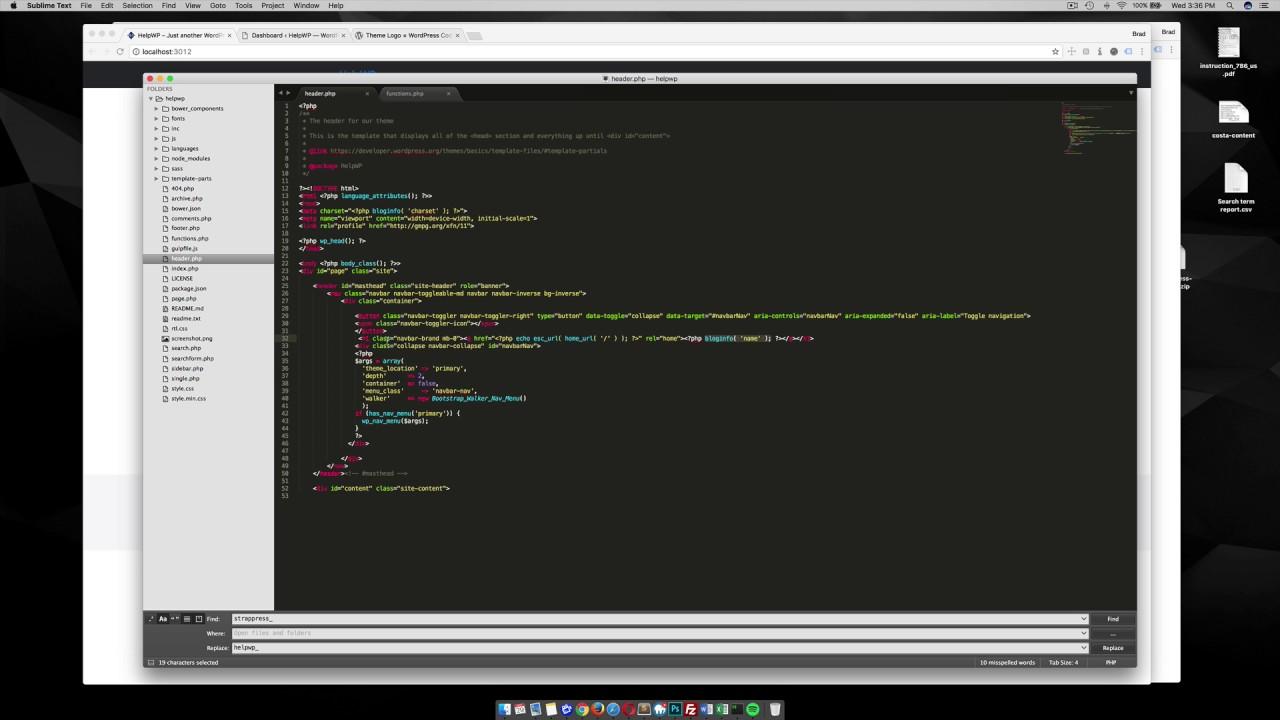 How to add Custom Logo Support to WordPress Theme