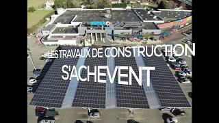 Le Super U d'Orthez s'équipe d'une centrale solaire en autoconsommation de 380 kW