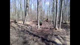 preview picture of video 'MudPro 650 at b&d atv trails hagersville ON'