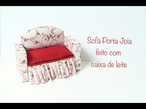 Sofá porta joia