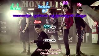 MBLAQ - Mona Lisa lyrics