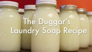 The Duggars Laundry Soap Recipe & How-To