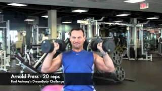 Calgary Fitness Tutorial - Arnold Press