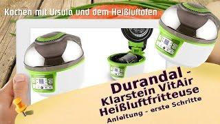 Vorstellung Durandal Klarstein VitAir Turbo Heißluftfriteuse - Halogen Ofen Rezepte