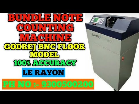 Bundle Note Counter Machine