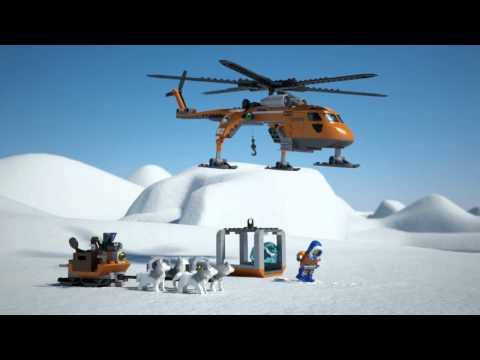 Vidéo LEGO City 60034 : L'hélicoptère arctique