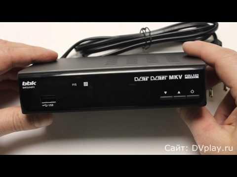 BBK SMP242HDT2 - обзор цифрового ресивера