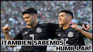 Las mejores goleadas de la Selección Mexicana