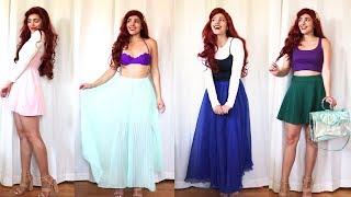DIY Ariel Costume // Ariel Disneybound Inspo