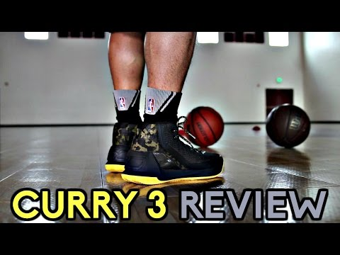 Under Armour Curry 3 Performance Review!