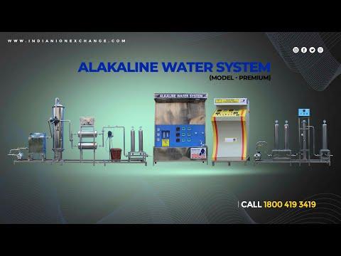 Alkaline water treatment plants