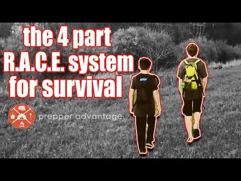 The 4 Part R.A.C.E. System for Emergency Trauma Survival Situations
