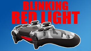 How to fix your ps4 controller disconnecting wirelessly, discharging fast or the blinking red light