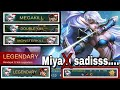 Miya Build Mobile Legend:Double kill,Mega kill,Monster kill,Legendary