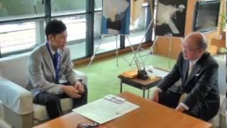 平岡卓選手平成26年2月26日奈良県スポーツ特別功労賞表彰式