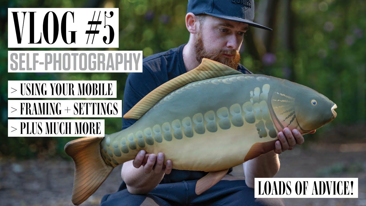 Carp Fishing Self-Photography, Baiting Poles + Much More! | Luke Venus Vlog 5