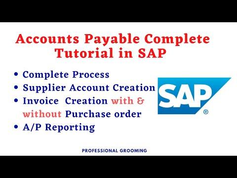 Sap accounts payable training | SAP Accounts Payable ... - YouTube