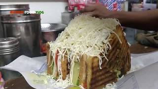 SAMOSA CHEESE SANDWICH GRILLED |  Mumbai Street Food