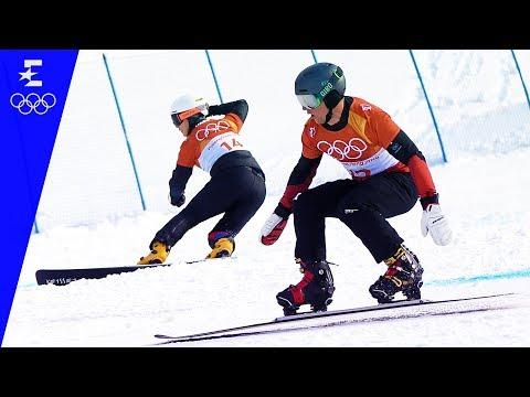 Snowboard | Men's Parallel Giant Slalom Highlights | Pyeongchang 2018 | Eurosport