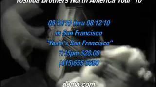 Yoshida Brothers 30 sec CM for Yoshi