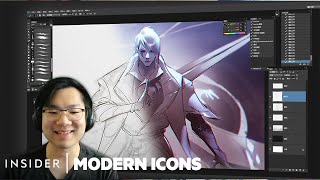 How League Of Legends Champions Are Illustrated | Modern Icons