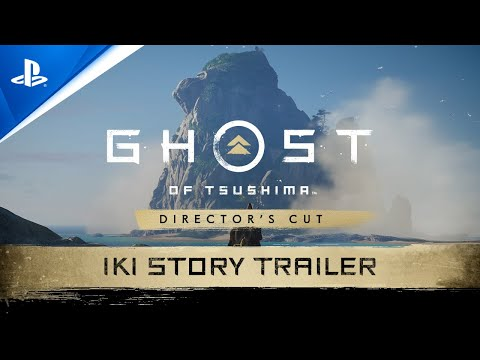 Ghost of Tsushima Director's Cut : Bande-annonce de l'histoire (Extension île d'iki) - anglais