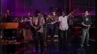 Carlos Santana Twisted Late show Anthony Hamilton