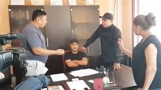 """Встреча с М. Ахматовым в офисе рынка """"ШАРЫН"""""""