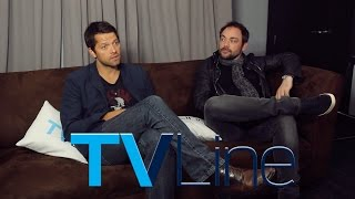 Миша Коллинз, Supernatural Interview at Comic-Con 2015 - TVLine