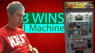 I WON 3 TIMES FROM 1 KEYMASTER!!!