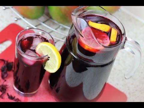 Video HOW TO MAKE ZOBO DRINK (Sorrel Drink - Roselle Drink)
