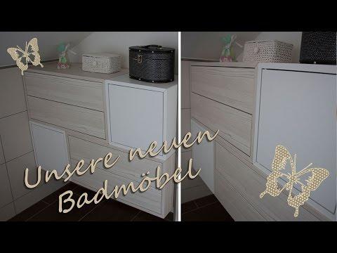 Unsere neuen Badmöbel/ IKEA Valje
