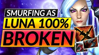How to RANK UP with EVERY HERO - BROKEN LUNA SMURF Tips ANALysis - Dota 2 Guide