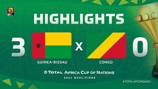 Qualif. CAN 2021   Groupe I : Guinée-Bissau 3-0 Congo