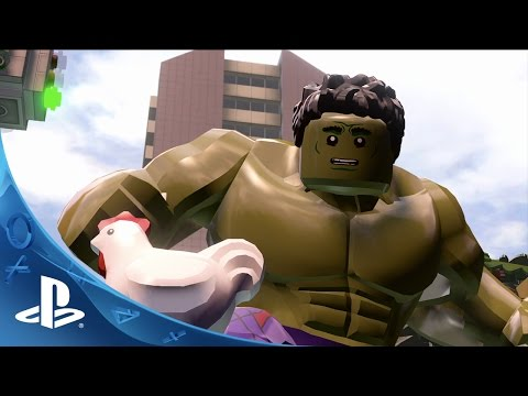 Видео № 0 из игры LEGO Marvel Мстители (Б/У) [PS Vita]