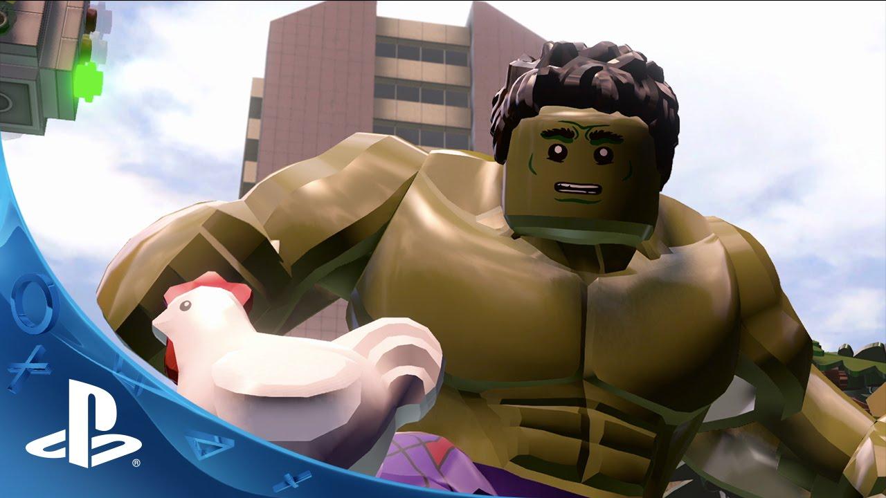 Neuer LEGO Marvel's Avengers-Trailer macht sein Debüt
