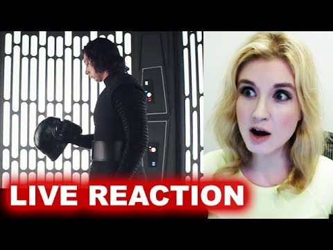 Star Wars The Last Jedi Trailer REACTION