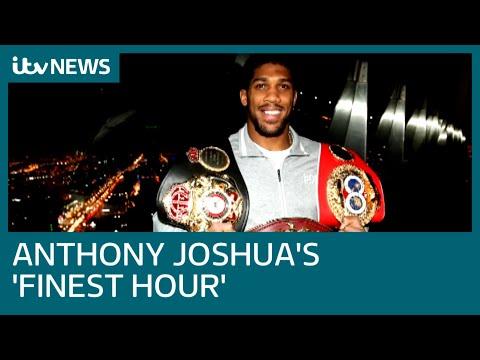 Anthony Joshua's 'finest hour' against Andy Ruiz Jr in Riyadh | ITV News