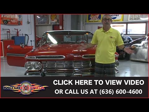 1959 Chevrolet Impala 4dr || SOLD