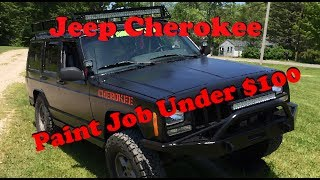 Jeep Paint Job Under $100