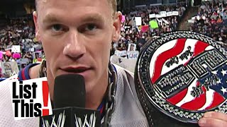 5 Superstars who trashed championships: WWE List This!