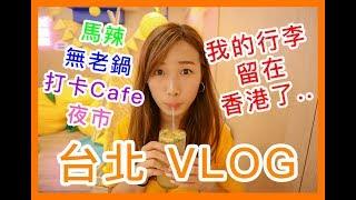 ✿ 台北8日7日夜VLOG ✿|行李竟然留在香港了?|打卡Cafe|試食無老鍋|Brandy's Wonderland