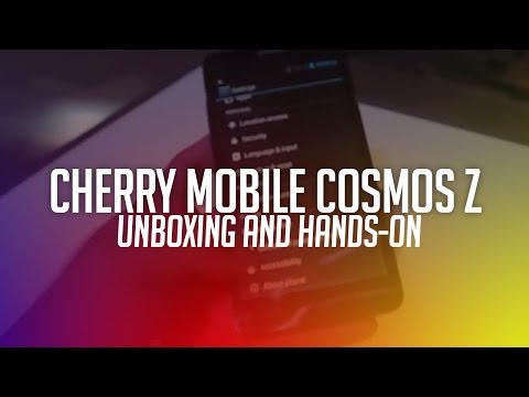 Cherry Mobile Cosmos Z Hands-on