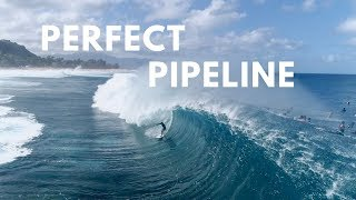 HOW TO CHOKE SOMEONE OUT / SURFING PERFECT BARRELS at PIPLELINE
